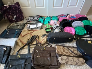 Buy Now: Bag and purse lot NWT and Preowned
