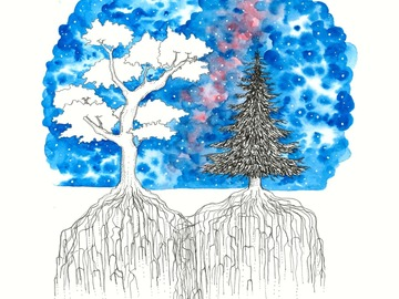 : Together our Roots Grow Deeper (Print)