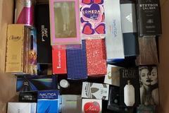 Buy Now: 50 Assorted Genuine Designer Fragrances, Colognes, Perfumes Shelf