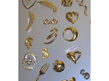 Buy Now: Assorted Quality Jewelry Silver & Gold Tone (Fashion Pins)