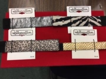 Liquidation/Wholesale Lot: Animal Print Bracelets-- Exhilaration Brand  200 pcs-- $ .49 pcs