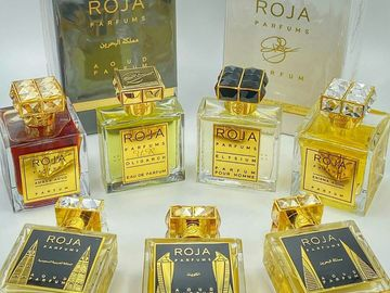 Liquidation/Wholesale Lot: Amber Aoud by Roja Dove EDP Luxury Unisex Niche Decanted Spray Pe