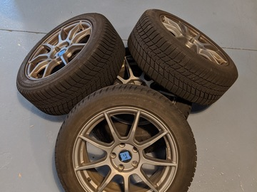Selling: Audi A3/S3/RS3 VW GTI/Golf/Golf R winter wheel / tire set