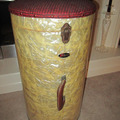 Selling with online payment: Extremely RARE - 1950's PEARL Drum Co. WMP CANISTER THRONE