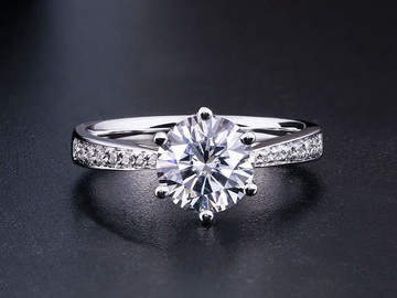 Buy Now: 10 pieces Diamond Engagement Anniversary Ring 1ct 2ct 3ct