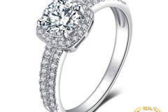 Buy Now: 10 Engagement Ring 925 Sterling Silver Rings for Women Anniversar