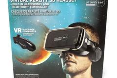 Buy Now: 280 VR Virtual Reality 3D Headset Bundle Pro Series Bundle
