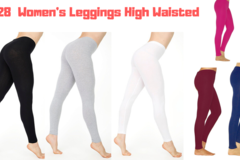 Buy Now: 28  Women's Leggings High Waisted - Retail $500