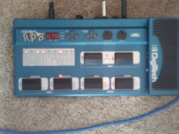 Renting out: Digitech RP6