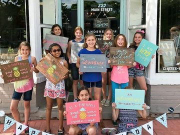Event Listing: DIY Birthday Party - Pick Your Own Crafty Project