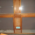 Buy Now: LARGE VINTAGE REAL WOOD DISPLAYS WITH GLASS SHELVES