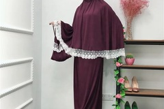 Buy Now: 100 Item name	Muslim prayer abaya