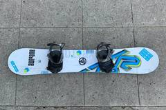 For Rent: K2 Gyrator Snowboard 162 with bindings