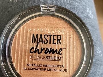 Venta: Iluminador master chrome - se regala con 1 compra