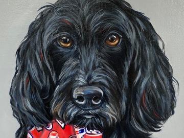 Selling: Custom Pet Portrait - 8 x 8