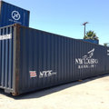 Vermietung mit einer festen Versandgebühr Option: Preview 40ft Standard IICL Shipping Container to Rent Vidalia GA