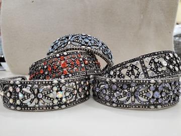Buy Now: Flex cuff rhinestone bracelets 84 pcs