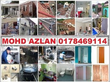 Services: plumbing dan renovation 0178469114 mohd azlan wangsa maju