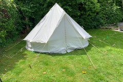 Renting out with online payment: Bex Bell Tent