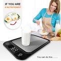 Make An Offer:  Digital Multifunction Kitchen Food Scale Stainless Steel Platfor