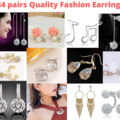 Buy Now: 84 Pairs Earrings Quality 18K Gold Plated Rhinestone and More