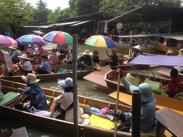 Offering with online payment: Damnoen Saduak Floating Market