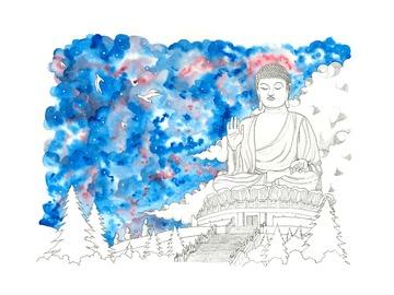 : The Big Buddha (Limited Edition Print)