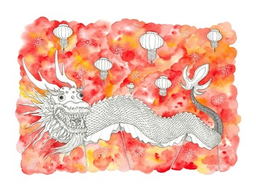 : The Dragon Dance (Limited Edition Print)