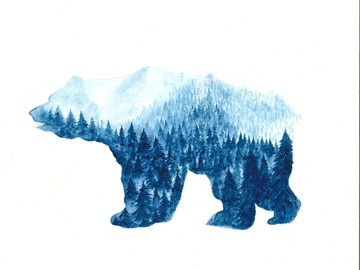 : The Polar Bear (Print)