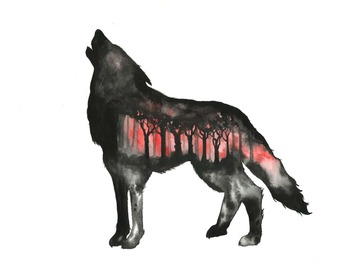 : The Wolf (Print)