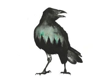 : The Crow (Print)