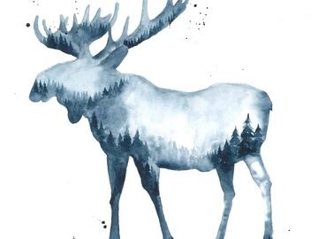 : The Moose (Print)