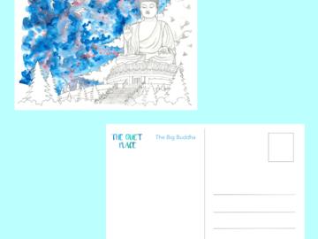 : The Big Buddha Postcard