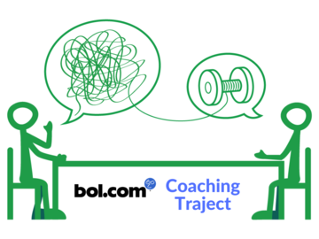 Advertentie: bol.com coaching traject