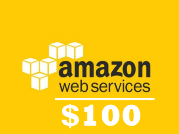 Myydään: $100 AWS Credit Code