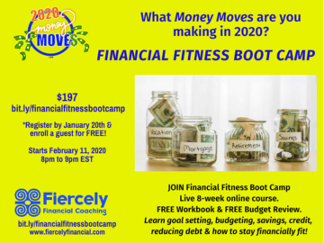 Workshop: Financial Fitness Boot Camp