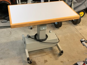 Selling with online payment: Equipment table