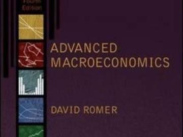 Myydään: Advanced macroeconomic