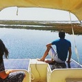 Alugue por pessoa: Algarve Eco-friendly Solar Boat Trip in Ria Formosa from Faro