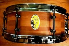 """Selling with online payment: Greg Gaylord Thumper Drums segmented shell snare drum 13"""" x 5"""""""