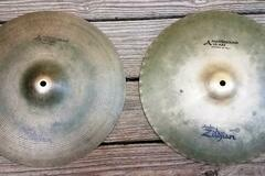 """Selling with online payment: Zildjian 14"""" Mastersound Hi Hats Hi hat pair"""