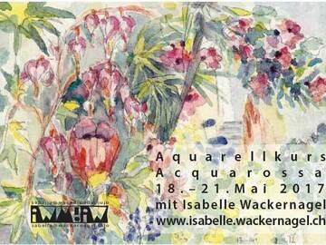 Workshop Angebot (Termine): Aquarellkurs in alter Tessiner Villa