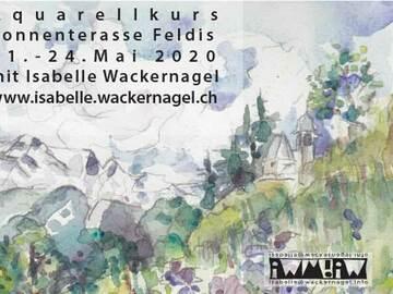 Workshop Angebot (Termine): Aquarellmalen in Feldis