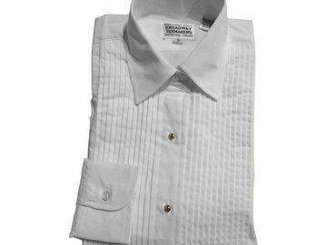 Buy Now: White Pleated Shirts and Red Vests for Teen Girls
