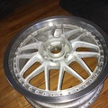 "Selling: 17"" Riverside Stich 3 piece wheels"