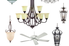 Buy Now: Wholesale lots Savoy Lighting and Fans