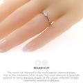 Buy Now: 0.3ct 4mm Round Cut EF VVS1 Moissanite 925 Silver Ring Diamond