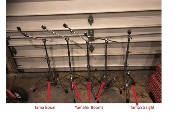 Selling with online payment: Various cymbal stands