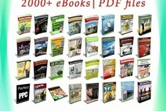 Buy Now: 2000 Collection Package ebook-pdf 6 GB With Master Resell Right