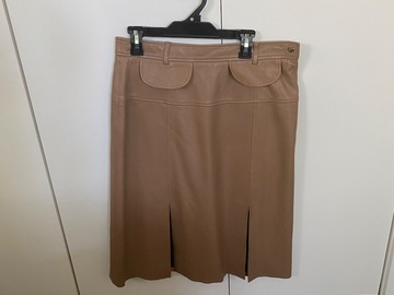 Selling: Lamb leather skirt